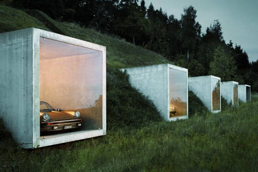 Luxury garages