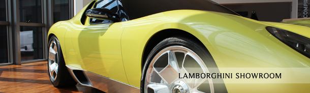 Motor Valley - Lamborghini Showroom