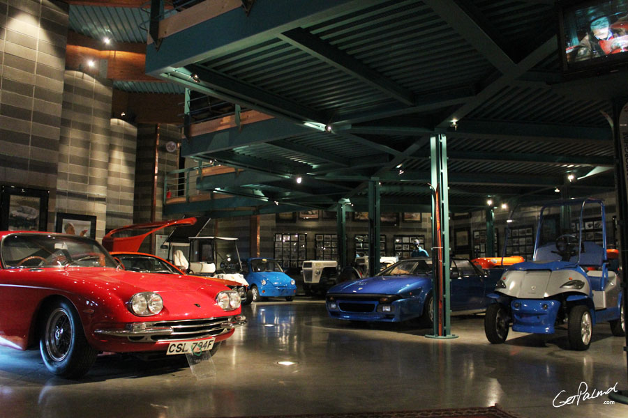 at the ferruccio lamborghini museum in ferraragetpalmd