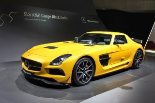 SLS AMG Coupe Black Series