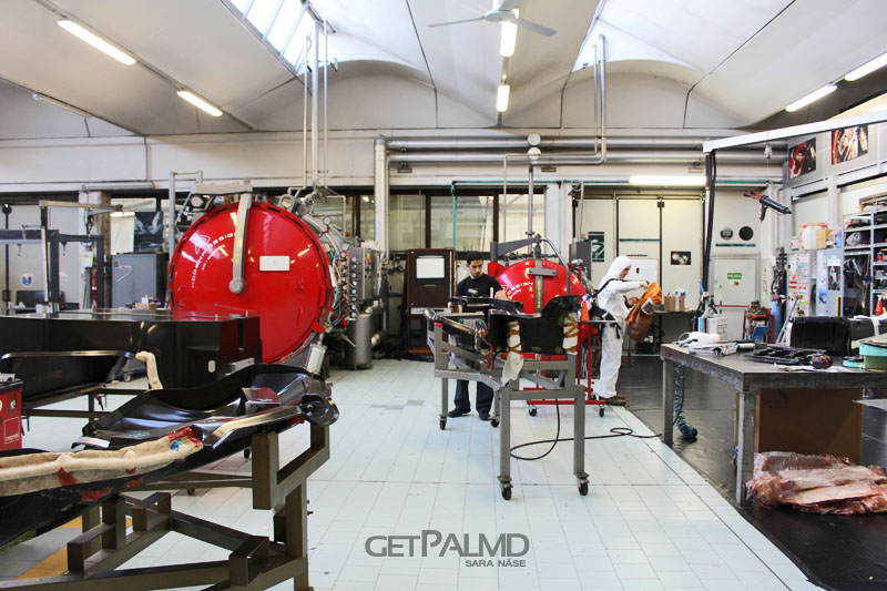 Pagani Automobili Factory Inside