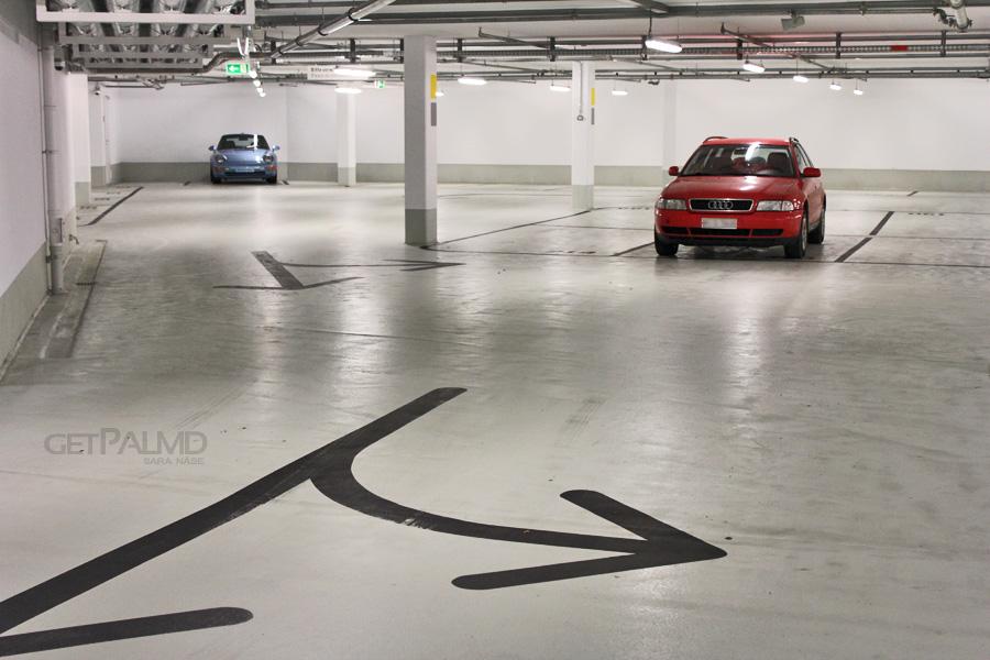 Porsche Museum Parking