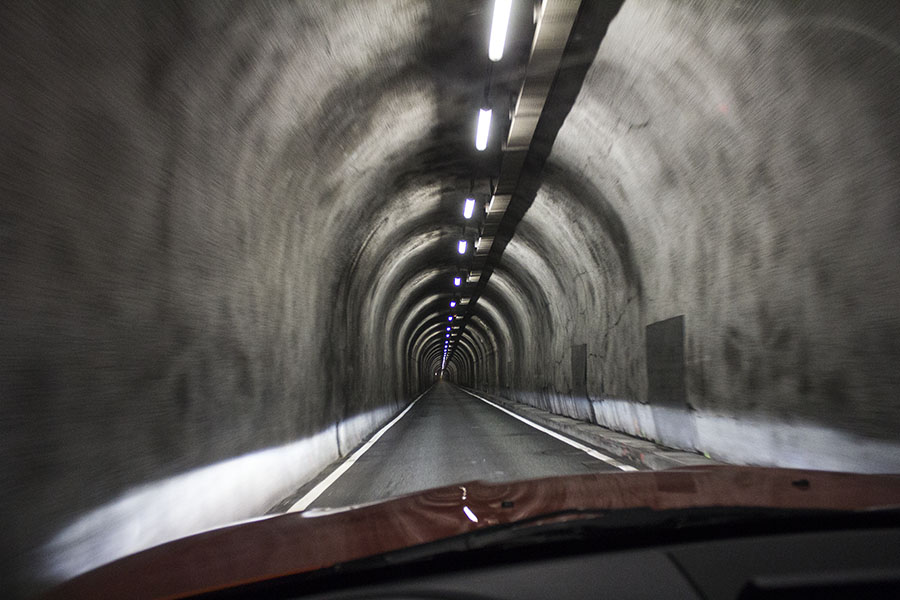 Livigno tunnel