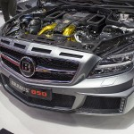Brabus CLS Shooting Brake engine