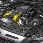 Brabus CLS Shooting Brake engine closeup
