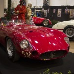 Classic red Maserati