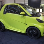 Lime green smart Brabus