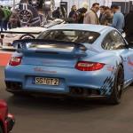 Porsche GT2 RS matte blue