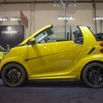 Yellow smart Brabus