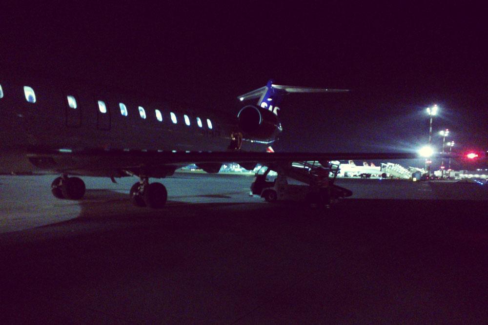 Morning flight Geneva