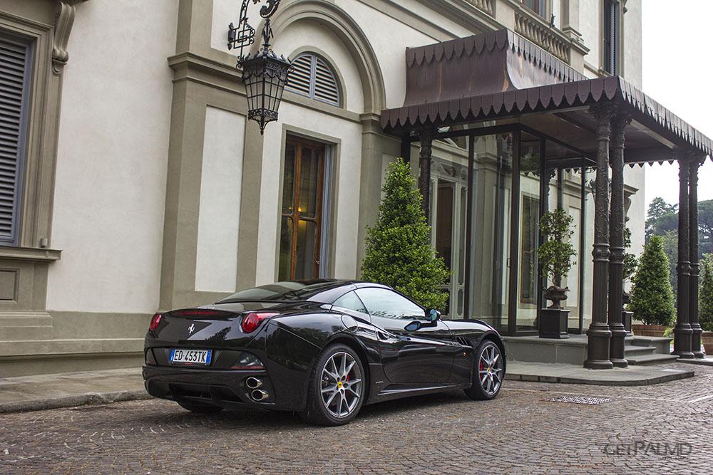 Ferrari California Villa Cora Florence
