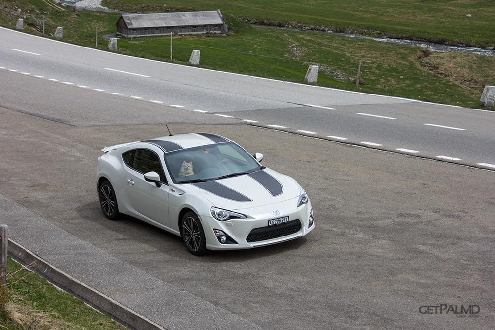 Gotthard Pass Switzerland - Toyota GT86