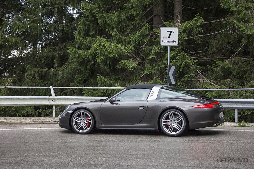Kreuzbergpass Porsche