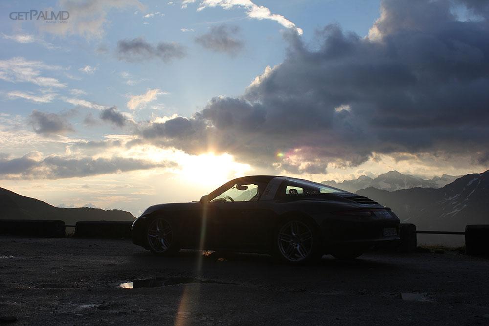 Morning sunlight Targa