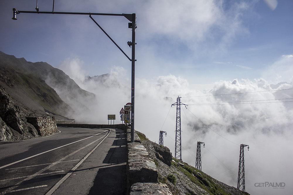 Stelvio Pass clouds