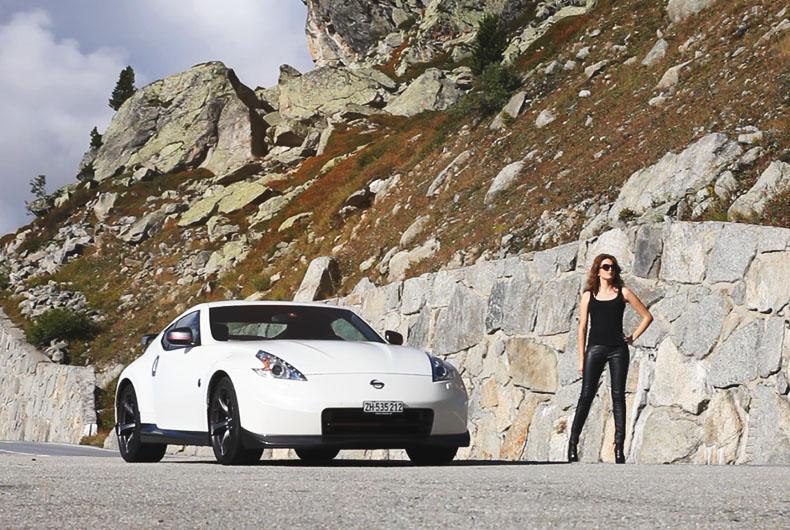 Nismo Alpine Tour - Nissan 370Z NISMO