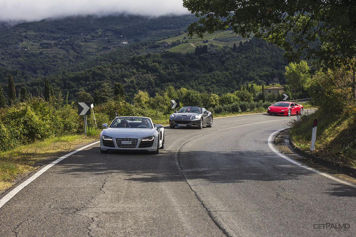 Tuscany Ultimate Drives supercars