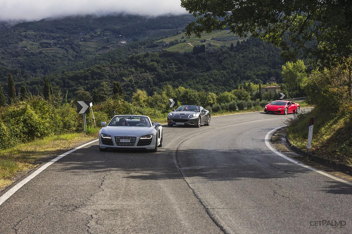 Tuscany Ultimate Drives supercars