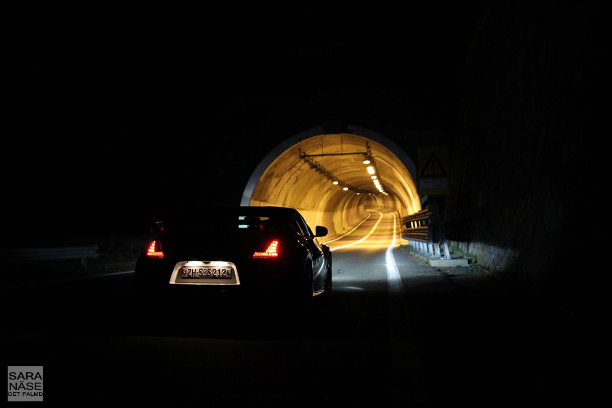 370Z Nismo tunnel