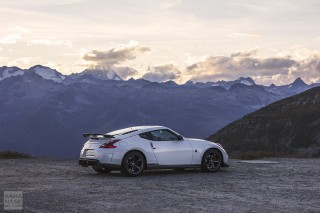 Nissan 370Z Nismo sunset
