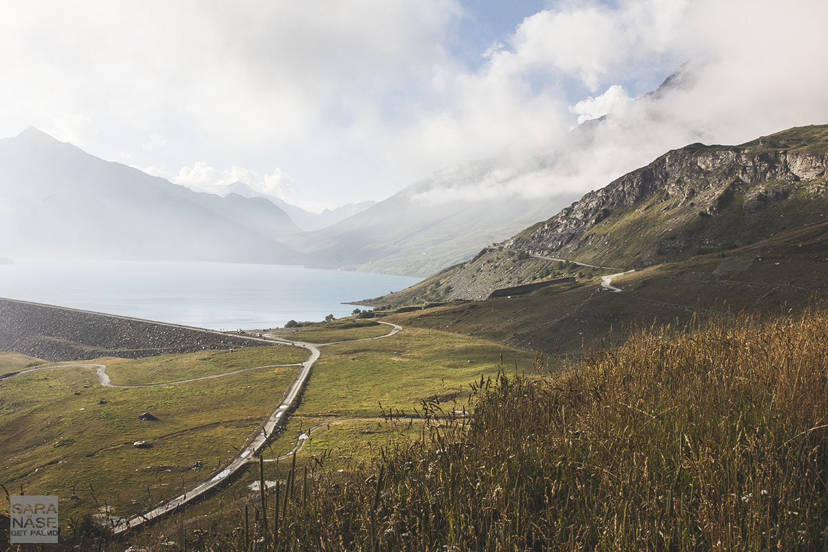 View over Mont Cenis Lake