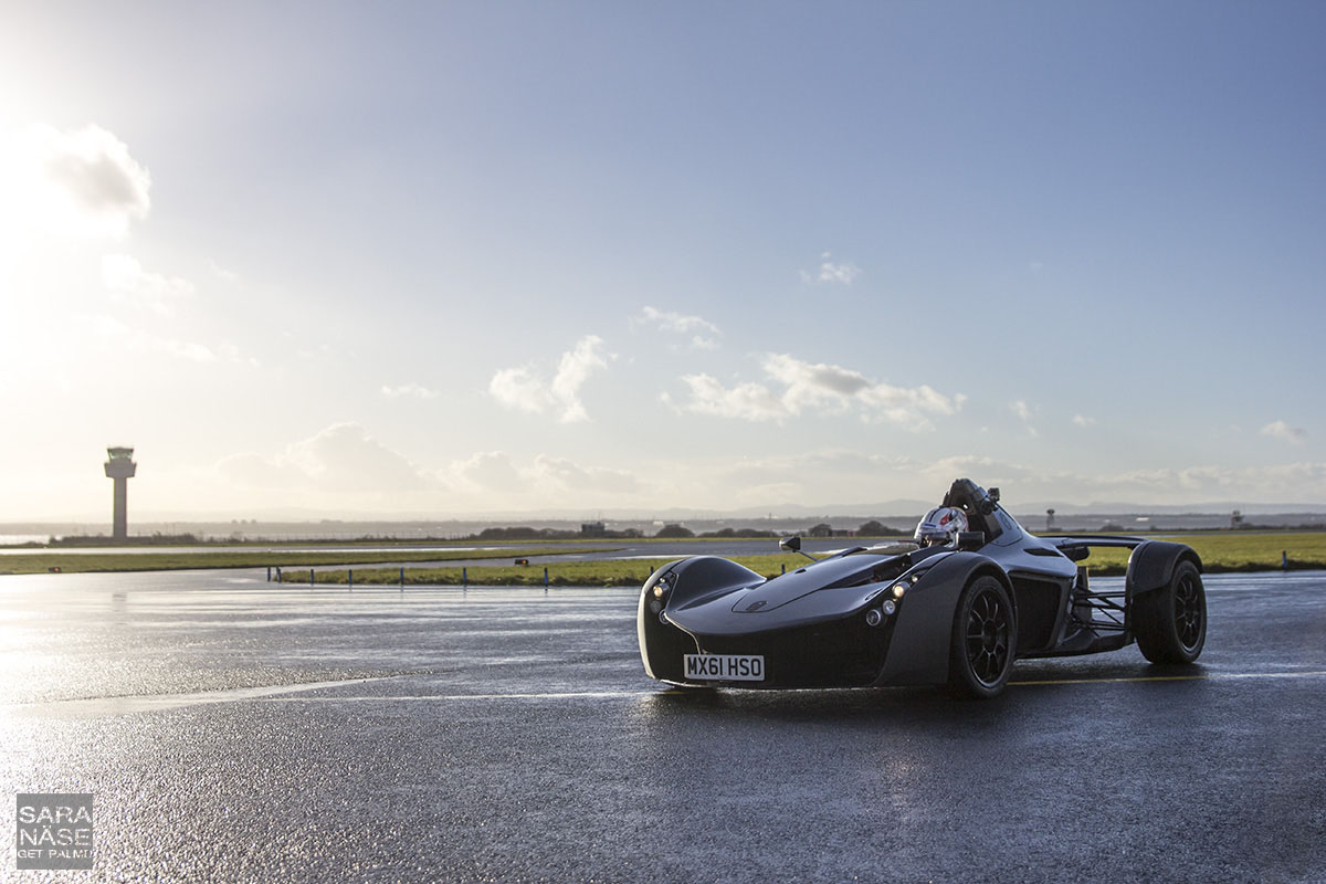 BAC Mono Liverpool Airport