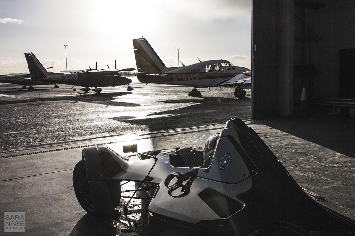 BAC Mono on airport