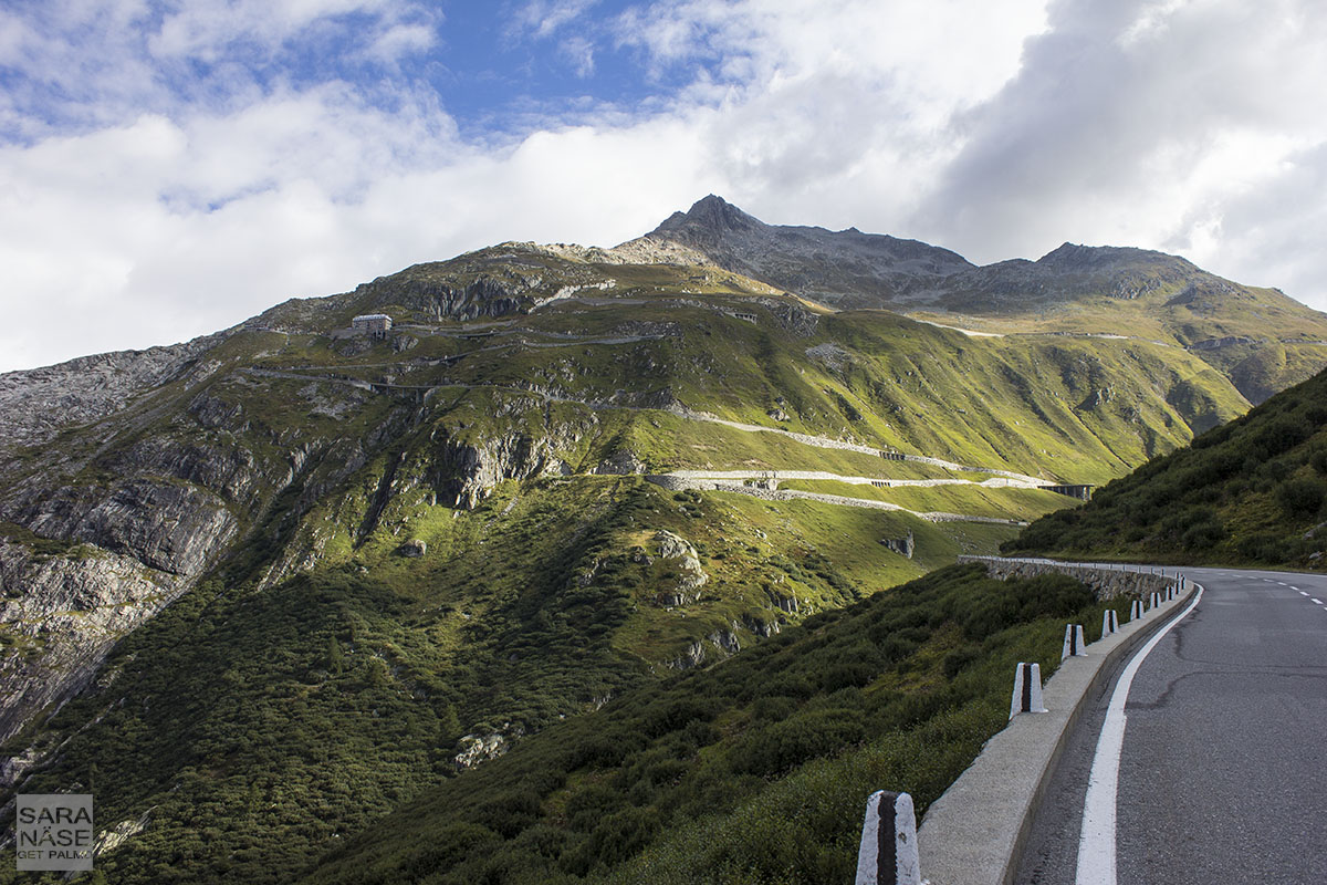 Furka Pass Switzerland