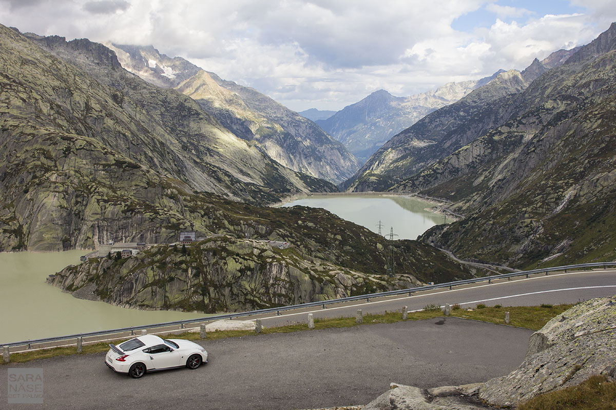 Grimsel Pass view