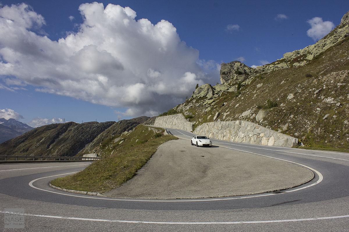 Nissan 370Z Nismo Grimsel Pass