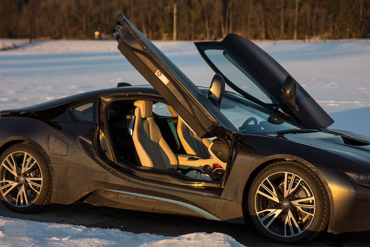 First Drive Bmw I8 On A Winter Day