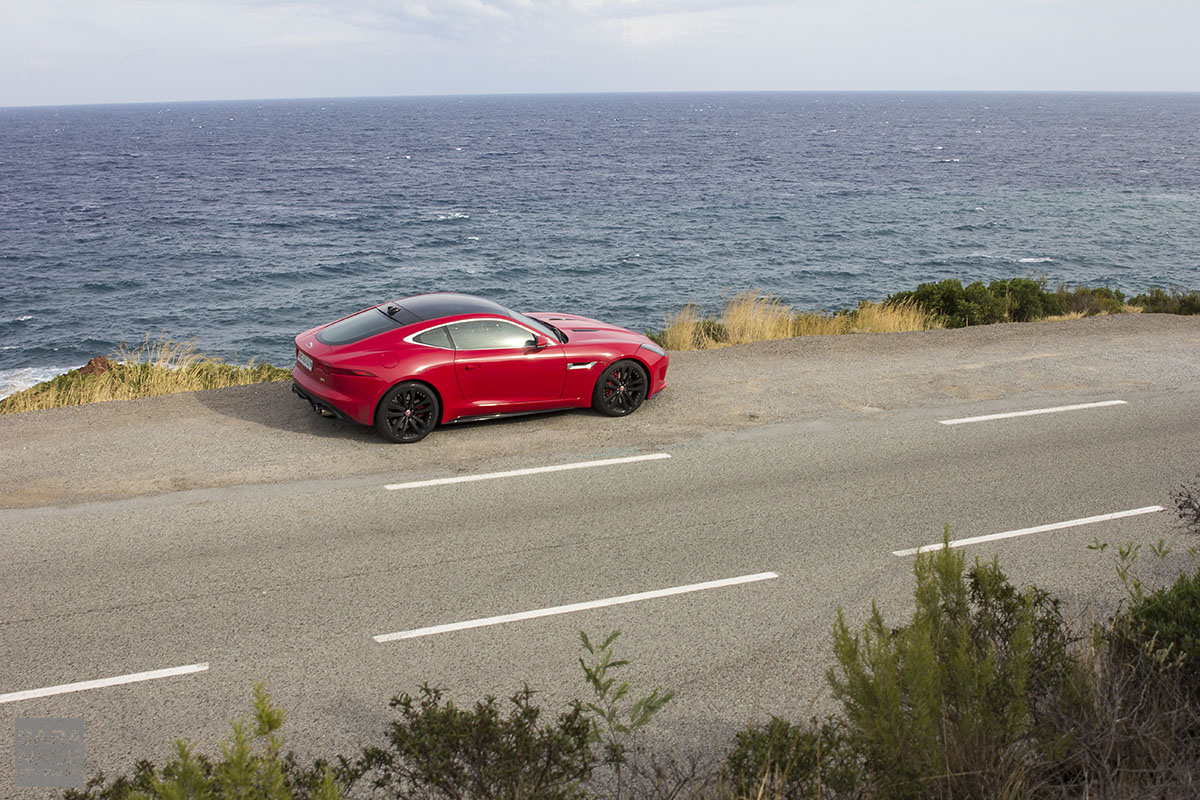 F Type Coupe R red