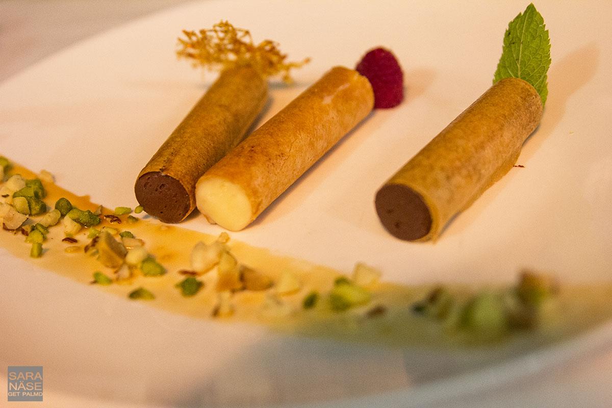Le Mas de Chastelas dessert
