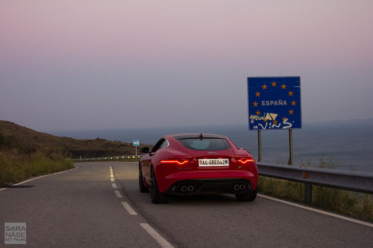 Jaguar F-Type Spain