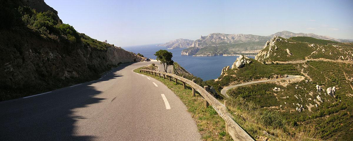 La Ciotat Cassis Route des Cretes
