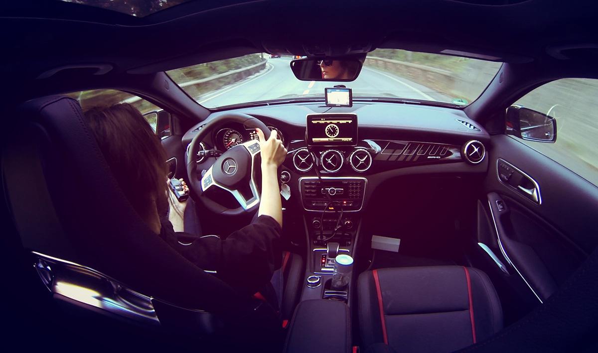 Mercedes AMG drive