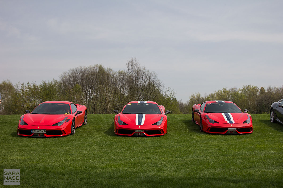 458 Speciale Cars Coffee Brescia