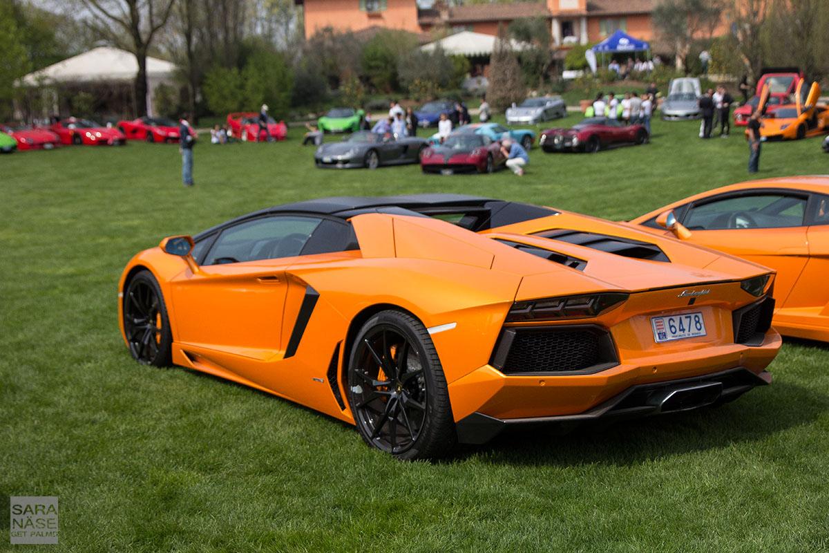 Aventador orange