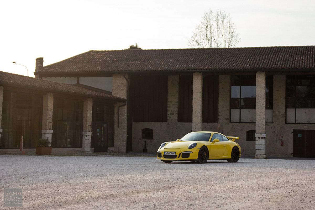 Mille Miglia Porsche 991 GT3
