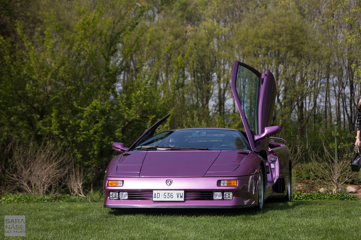Purple Lamborghini Diablo