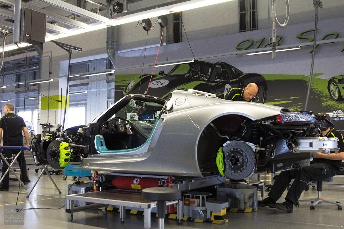 Porsche Factory Tour