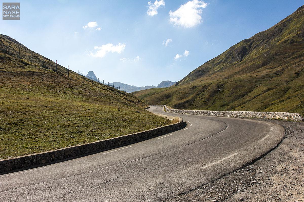 Col du Pourtalet curve