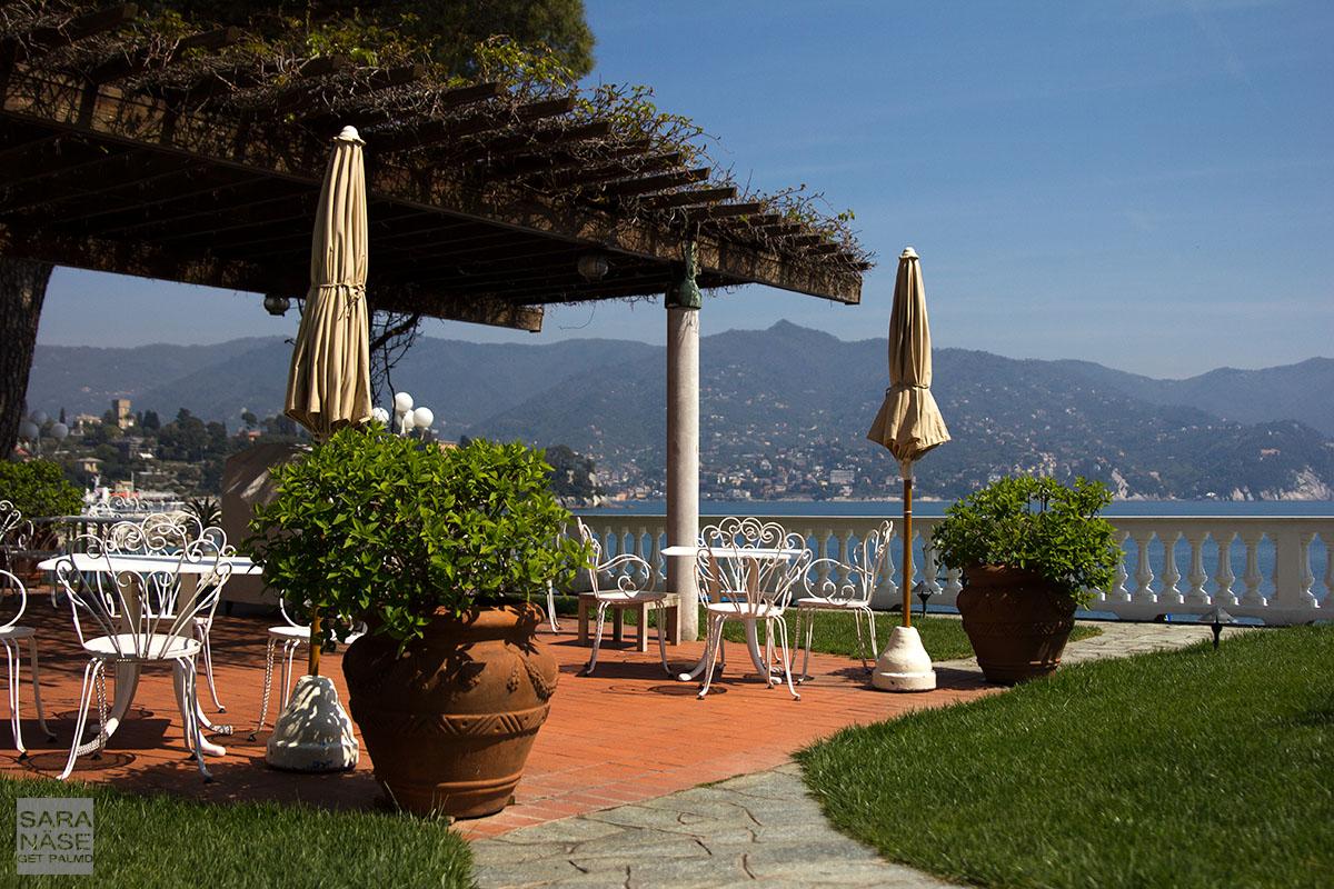 Grand Hotel Miramare terrace