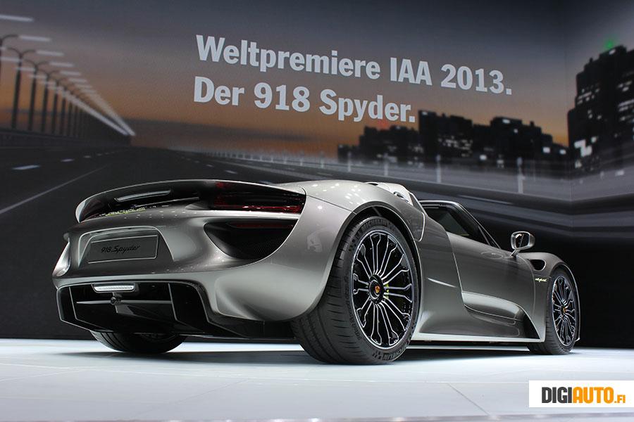 Porsche 918 Spyder Weltpremiere