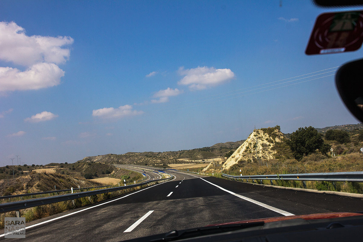 Spain main roads