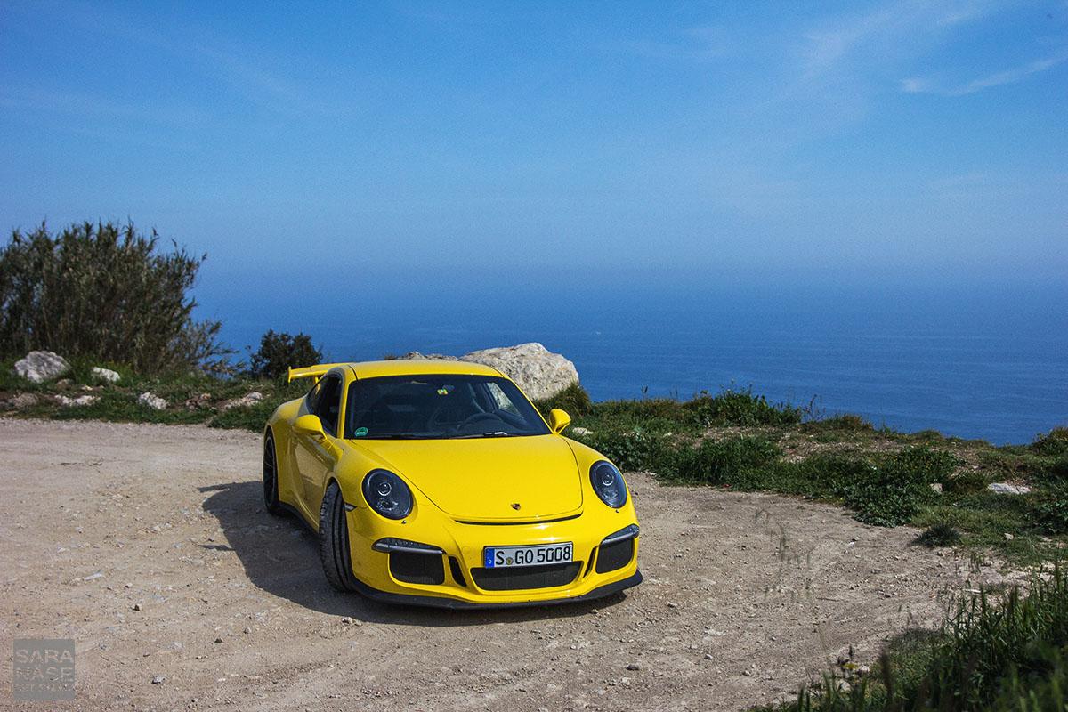 Yellow GT3 sunshine