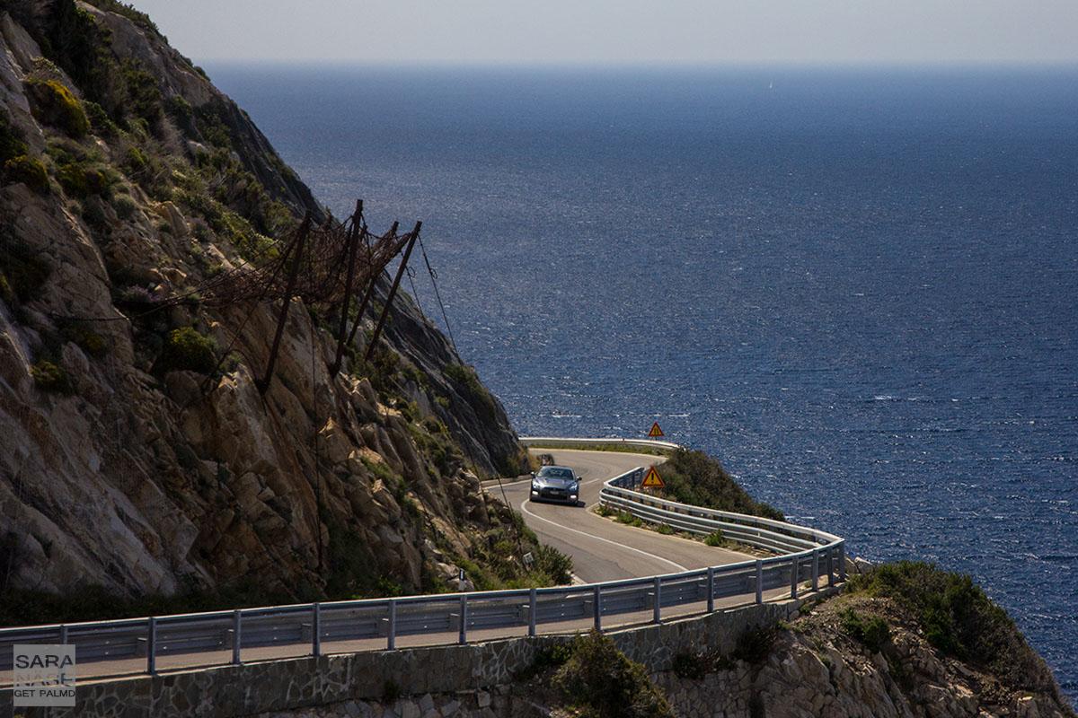 Elba island road GT-R