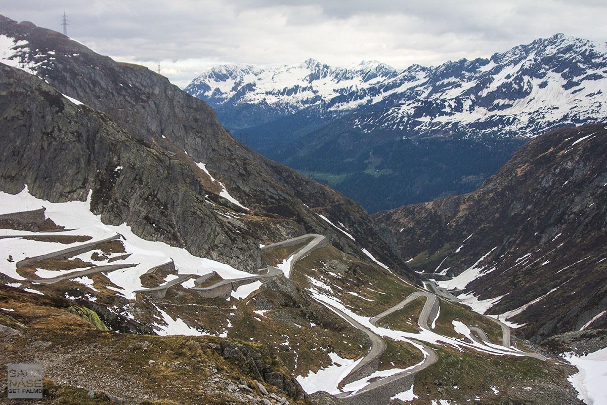 Gotthard Pass May