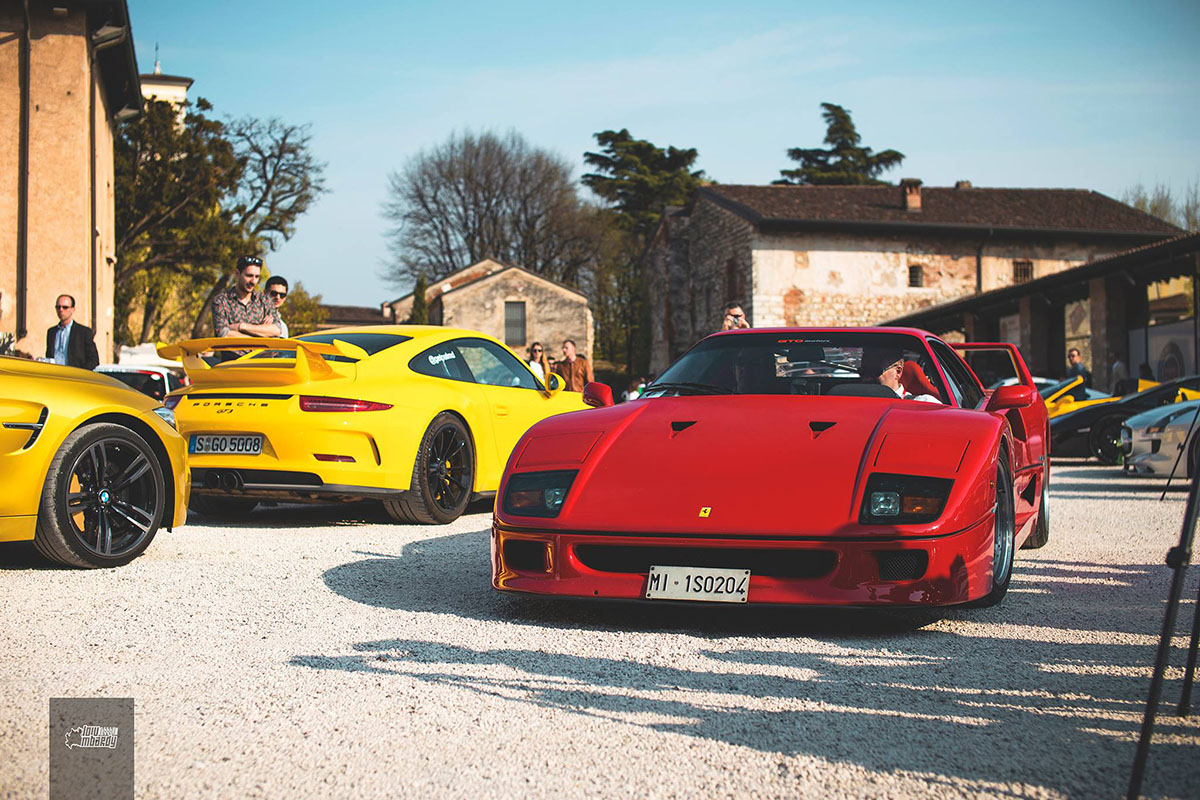 GT3 and F40
