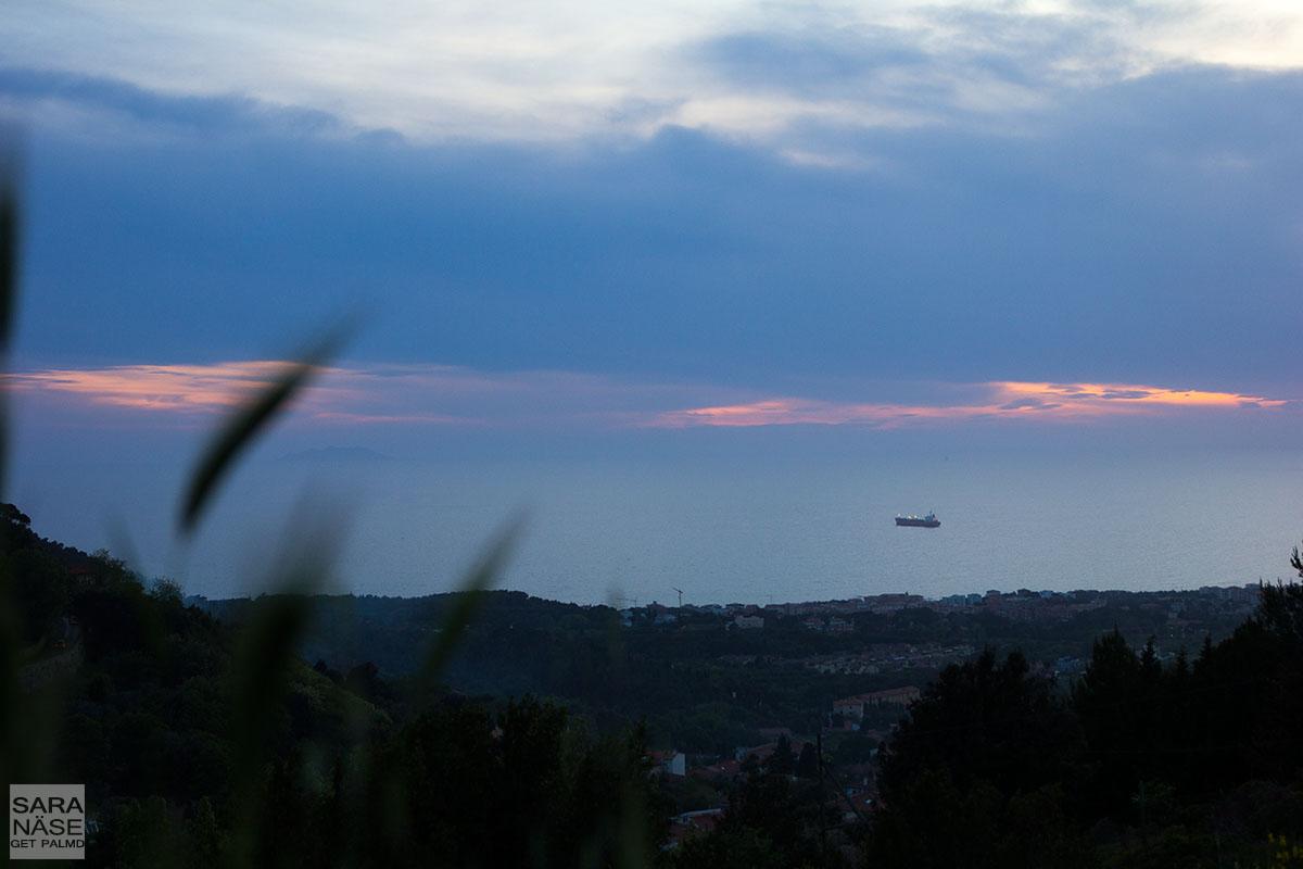 Livorno sea view